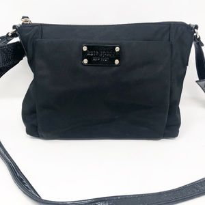 Kate spade nylon cross body with bow